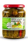 Pepi's scharfe Biogurkerl720ml